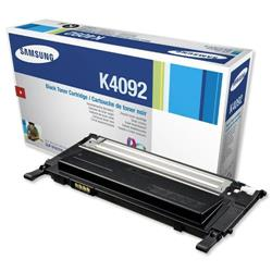 Samsung CLT-K4092S Black Laser Toner Cartridge for CLP-315/CLP-3175 Series Ref CLT-K4092S/ELS