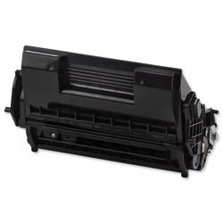 OKI Laser Toner Cartridge High Yield Page Life 25000pp Black Ref 1279201