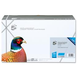 5 Star Office Compatible Laser Toner Cartridge Page Life 6000pp Cyan [HP No. 503A Q7581A Alternative]