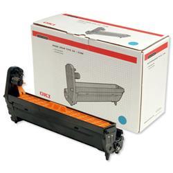 OKI Cyan Laser Drum Unit for C5100/C5200/C5300/C5400 Ref 42126607