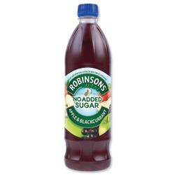 Robinsons Special R Squash No Added Sugar 1 Litre Apple and Blackcurrant Ref 206936 [Pack 12]