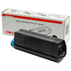 OKI Black Laser Toner Cartridge for C5100/C5200/C5300/C5400 Ref 42127408