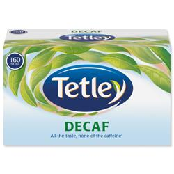 Tetley Tea Bags Decaffeinated High Quality Ref 5001E - Pack 160