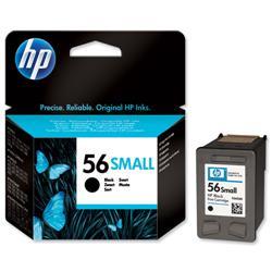 Hewlett Packard HP No. 56 Low Yield Black Inkjet Cartridge Ref C6656GE