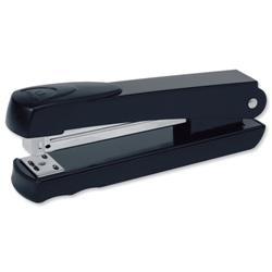 Rexel Aquarius Stapler Full Strip Throat 90mm Black Ref 2100016