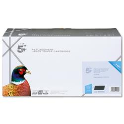 5 Star Office Remanufactured Laser Toner Cartridge 8500pp Black [HP No. 647A CE260A Alternative]