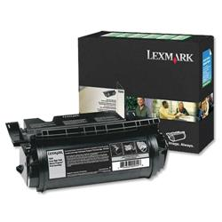 Lexmark Laser Toner Cartridge Return Program High Yield Page Life 21000pp Black Ref 64016HE