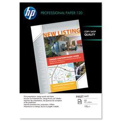 Hewlett Packard HP Professional A3 Matt Inkjet Paper 120gsm Ref Q6594A - 100 Sheets