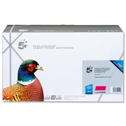 5 Star Office Remanufactured Laser Toner Cartridge 6000pp Magenta [HP No. 503A Q7583A Alternative]