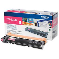 Brother TN-230M Magenta Laser Toner Cartridge Ref TN230M