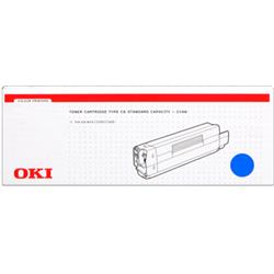 OKI Cyan 3k Toner Cartridge for C5200/C5400 Ref 42804507