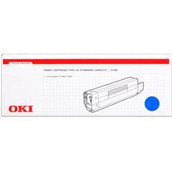 OKI Cyan 3k Toner Cartridge for C5200/C5400 Ref 42804507