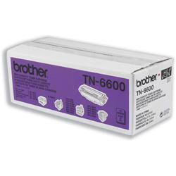 Brother Fax Laser Toner Cartridge Page Life 6000pp Black Ref TN6600