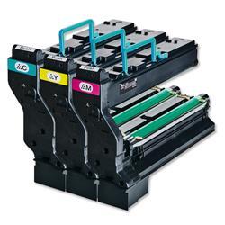 Konica Minolta Laser Toner Cartridge Page Life 18000pp Cyan/Magenta/Yellow Ref 1710594-001 - Pack 3