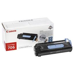 Canon 706 Black Laser Copier Toner Cartridge for Canon MF6500 Series Ref 0264B002AA