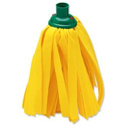 Cloth Mop Head Refill Thick Absorbent Strands Green