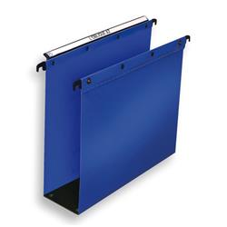 Elba Ultimate Suspension File Polypropylene 80mm Foolscap Blue Ref 100330417 [Pack 10]