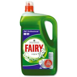 Fairy Original Washing Up Liquid 5 Litres Ref VPGFAL5