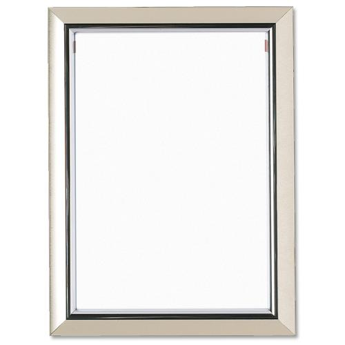 Deluxe Certificate Frame Non Glass Holds A4 Silver - A4PEL-SIL ...