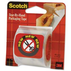 Scotch Tear By Hand Packing Tape 50mmx16m Ref E5016C