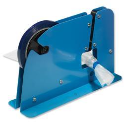 Bag Neck Sealer Dispenser for 9mm Tape Blue