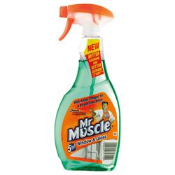 Mr Muscle Window Trigger Spray Bottle 500ml Ref 91579