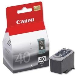 Canon PG-40 Inkjet Cartridge Page Life 329pp Black Ref 0615B001