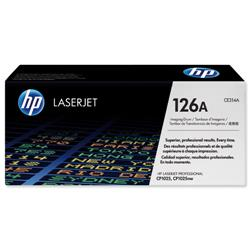 Hewlett Packard HP No. 126A Laser Drum Unit Page Life 14000pp Black/7000pp Colour Ref CE314A