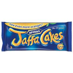 McVities Jaffa Cakes Minipack Ref A07052 - Pack 24