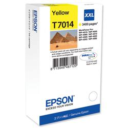 Epson T7014 Yellow Extra High Capacity Ink Cartridge Ref C13T70144010