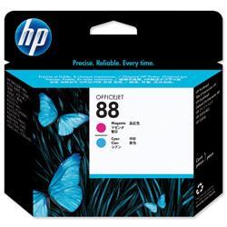 Hewlett Packard HP No 88 Cyan & Magenta Printhead Ref C9382A