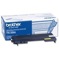 Brother Laser Toner Cartridge Page Life 1500pp Black Ref TN2005