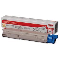 OKI 2.5K Magenta Microfine Laser Toner for C3450/C3600/C3300n/C3400n Ref 43459330