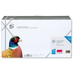 5 Star Office Remanufactured Laser Toner Cartridge 8000pp Magenta [HP No. 641A C9723A Alternative]