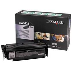 Lexmark T430 12k High Yield Return Program laser toner Print Cartridge Ref 12A8425