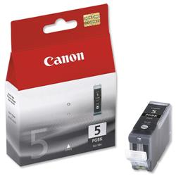 Canon PGI-5BK Black Inkjet Cartridge Ref 0628B001
