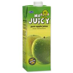 St Ivel Mr Juicy Apple Drink Carton Concentrated 1L Ref A07835 - Pack 12