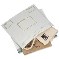 Keepsafe Biodegradable Extra Strong Envelope Opaque 400x430mm Peel & Seal Ref KSV-BIO5 [Pack 100]