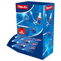 Tipp-Ex Easy-correct Correction Tape Roller 4.2mmx12m Ref 895951 [Pack 15 + 5 FREE]
