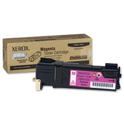 Xerox 106R01333 Magenta Laser Toner Cartridge for Phaser 6125 Ref 106R01332