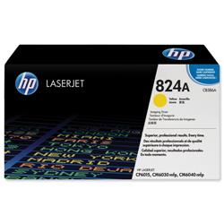 Hewlett Packard HP No. 824A Laser Drum Unit Page Life 35000pp Yellow Ref CB386A