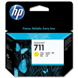 Hewlett Packard (HP) No. 711 Inkjet Cartridge 29ml Yellow Ref CZ132A