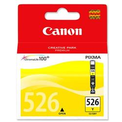 Canon  CLI-526Y Yellow Inkjet Cartridge Ref 4543B001