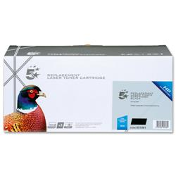 5 Star Office Remanufactured Laser Toner Cartridge 3500pp Black [HP No. 304A CC530A Alternative]