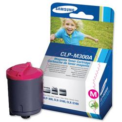 Samsung CLP-M300A Magenta Laser Toner Cartridge for CLP-300 Series Printer Ref CLP-M300A-ELS