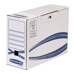 Bankers Box by Fellowes Basics Transfer File Recycled Board Ref 4460901 [Pack 20]