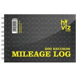 Silvine Mileage Log Book 50pp 75gsm 152x102mm Ref HVML64