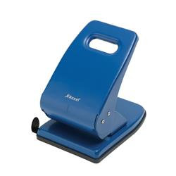 Rexel V240 Value Punch 2-Hole Metal Capacity 40x 80gsm Blue Ref 2103654