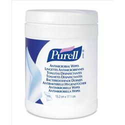 Purell Antimicrobial Wipes Canister Ref P06589 [270 Wipes]