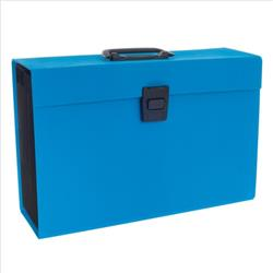 Rexel JOY Expanding Organiser File 19 Part Blissful Blue Ref 2104019